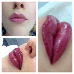 Lip Conture® Make-up by our elite linergist Sabine Bundschuh Make Up, Liner, Lipstick, Beauty, Makeup, Beleza, Lipsticks, Cosmetology, Bronzer Makeup