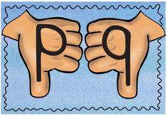"""Confusión de letras de orientación simétrica. Se caracteriza esencialmente por la dificultad que presenta el alumno disgráfico para distinguir con claridad las letras de igual orientación simétrica: """"d-b"""", """"p-q-g"""",… así …"""