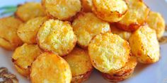 Crispy Cheddar Cauli-Tots