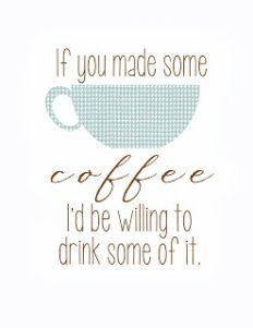 coffee printables 4