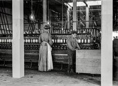 """Catawba Cotton Mill doffer and spooler."" Newton, North Carolina, 1908. http://www.shorpy.com/node/21187 Lewis Wickes Hine"