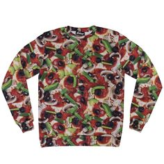 Supreme Pizza Sweatshirt from Beloved Shirts