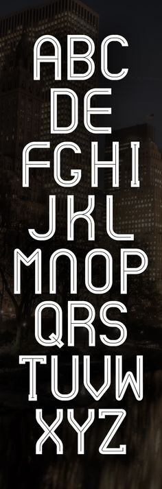 CYPHER FONT by Nabeel Khalid - #typography #type