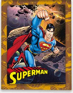 3D Art - Superman - Asteroid