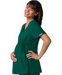 Blusa de maternidad Cherokee Flexibles, cuello cruzado