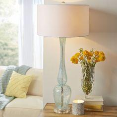 Found it at Wayfair - Marino Glass Table Lamp