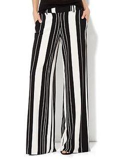 Palazzo Soft Pant -Stripe New York ♡♥♡