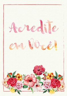 Poster Frase Motivacional