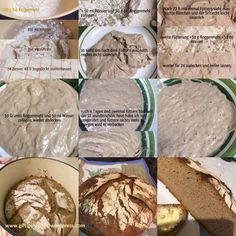 World Bread Day 2016 – Reines Sauerteigbrot ohne Hefe aus dem Gusseisernen Topf   giftigeblonde Convenience Food, Bread Recipes, Camembert Cheese, Dairy, Paleo, Pizza, Low Carb, Inspiration, Queen