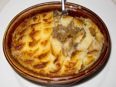 Shepherd's pie & Cottage pie