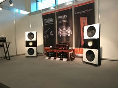 Open Baffle Speakers by PureAudioProject at High End Show Munich 2017