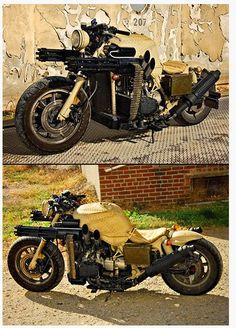 Zombie Apocalypse Motorcycle #8