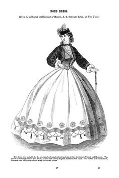 Robe Dress ~ Godey's Lady's Book, July 1864 | Flickr - Photo Sharing!