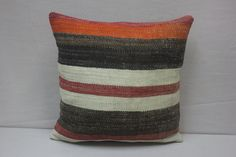Hand Woven Turkish Kilim Cushion/ pillow Cover by kilimwarehouse, $17.99