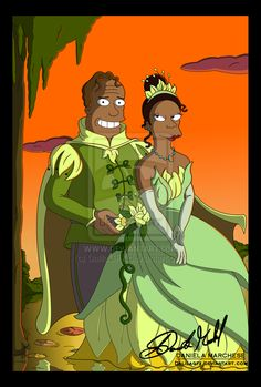 The Princess and The Frog by Daniela Marchese [©2011]