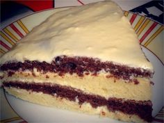 Лёгкий и вкусный тортик на кефире / Живой лёд глобальных вопросов