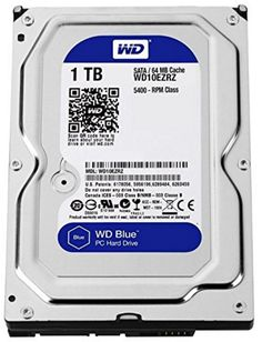 See detailed specifications of [WD Blue 1TB Internal Hard Drive (WD10EZRZ) ] at Amazon