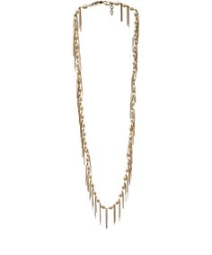Rosantica Long California Gold-Dipped Freshwater Peal Necklace | Accessories | Liberty.co.uk