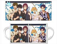 Free! Mug Cup Yukata (Anime Toy) Penguin Parade Mug Cup Free!