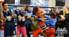 Let off some steam and have fun! Boxing Classes, Kids Boxing, Have Fun, Wrestling, Let It Be