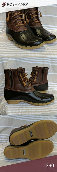 a7dae58b9af3c 73 Best Sperry Duck Boots Outfit ❤ images