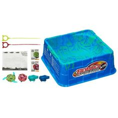 BEYBLADE XTS Half Pipe Battle Set by Beyblade. $39.99. Recommended Age: 8 years and up. BEYBLADE XTS Half Pipe Battle Set