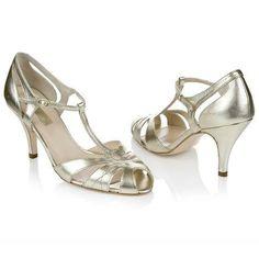 2014 Rachel Simpson Chaussure de mariage sur http://www.espacemariage.com/