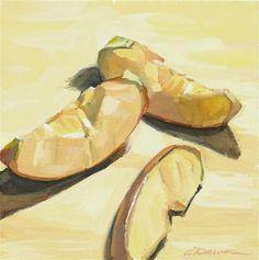 "Daily Paintworks - ""Segments"" - Original Fine Art for Sale - © April Dawes"