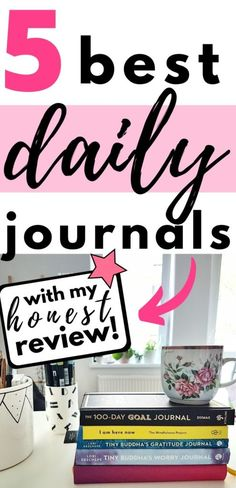 This is the list of best daily journals for organizing life, practicing mindfulness, calming racing thoughts, and live more intentionally Goal Journal, Daily Journal, Journal Prompts, Writing Prompts, Journal Ideas, How To Start Meditating, Gratitude, Affirmations, Focus Your Mind