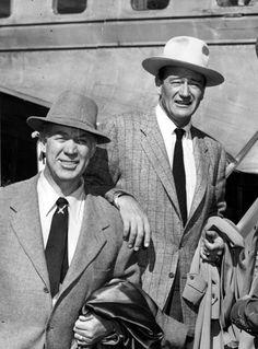 Ward Bond and John Wayne - best friends