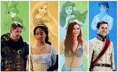 Once Upon A Time - Robin Hood, Rapunzel, Ariel, Prince Eric