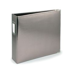 We R Memory Keepers - Classic Leather - 8.5 x 11 - Three Ring Albums - Platinum at Scrapbook.com