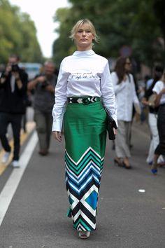 Street Style at Milan Fashion Week Spring 2017 | POPSUGAR Fashion Australia