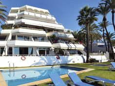 Beach front Garden Apartment at Port Oasis for sale, Golden Mile Marbella:  2 bedrooms, 2 bathrooms, Listing ID 1186, Marbella