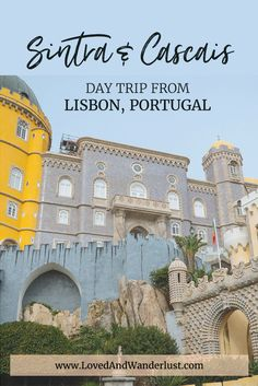 To top off an already lovely experience in the city, we joined Lisbon Riders for a day trip to nearby towns of Sintra and Cascais. Yes, not just one, but two interesting settlements neighboring Lisbon. It's one of the highlights of our whole European adventure, and it's for a good reason.