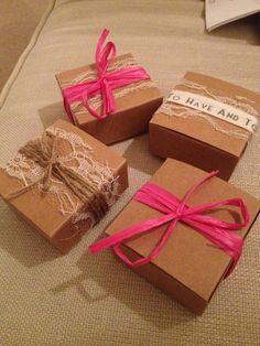wedding favour boxes