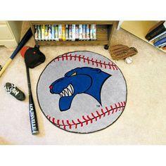 Georgia State Panthers NCAA Baseball Round Floor Mat (29)