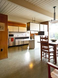Greg and Diane's house is now on the market. The house is located at 4094 Sacramento Street in Concord and is one of the. Mid Century Modern Kitchen, Mid Century Modern Design, Glass Dinning Table, Dining, Mid-century Interior, Interior Design, Küchen Design, House Design, Design Ideas