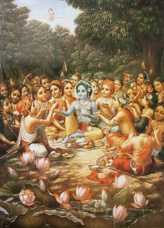 Krishna Lilas - The Nectarian Pastimes of the Sweet Lord Baby Krishna, Krishna Lila, Little Krishna, Cute Krishna, Jai Shree Krishna, Radhe Krishna, Lord Krishna Images, Radha Krishna Pictures, Radha Krishna Photo