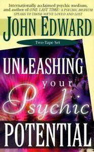 John Edward Unleashing Your Psychic Potential 2 Tape Set Brand New $18.49  FREE SHIPPING!!!!!!!!