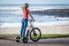 Go about town in the most fun way possible with the DC-Tri Electric Stand Up Trike. It has an impressive 30-mile range to take you anywhere.