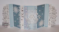 Jo Mckelvey - Die'sire Edge'ables -  Let it snow Edge'able - Snowflakes Edge'able - Sara Davies Signture Collection - Festive Wonder Snowflake dies and papers -  Core'dinations - Collall glues - #crafterscompanion #Christmas