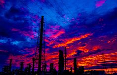 burning sunset by Ken Okamoto on 500px