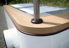 Solar Ice Cream Cart - detail