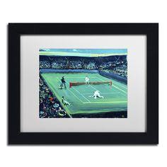 Lowell S.V. Devin 'Grand Slam' White Matte, Framed Wall Art (White Matte, Frame 11x14 (Print is 8x10))