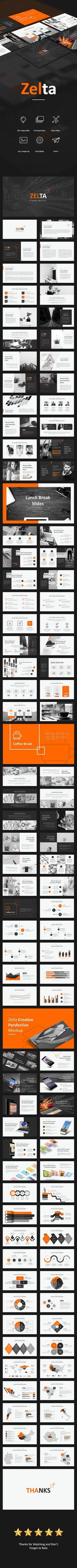 Zelta Powerpoint - PowerPoint Templates Presentation Templates
