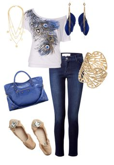 """""""Peacock Love"""" by mmmorman on Polyvore"""