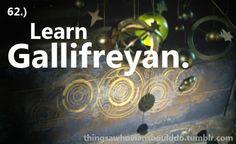 Learn Gallifreyan