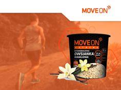 Dużo biegasz lub uprawiasz inny sport? Zadbaj o uzupełnienie kalorii, witamin i minerałów. Owsianka MoveOn Extreme o smaku waniliowym to idealne rozwiązanie dla aktywnych! #moveon #moveonsport #moveonteam #moveonextreme #sport #active #motivation #running #fitmeal #owsianka #porridge #crunchy #oat #wanilia