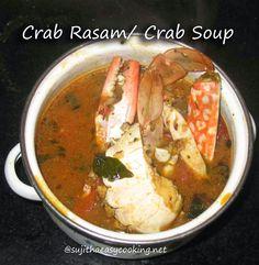 Crab Rasam/ Crab Soup